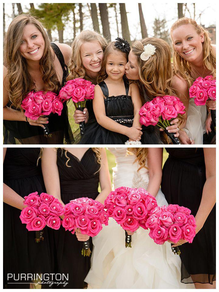 Bemidji Wedding Photographer Nicci And Terry Hot Pink Weddings