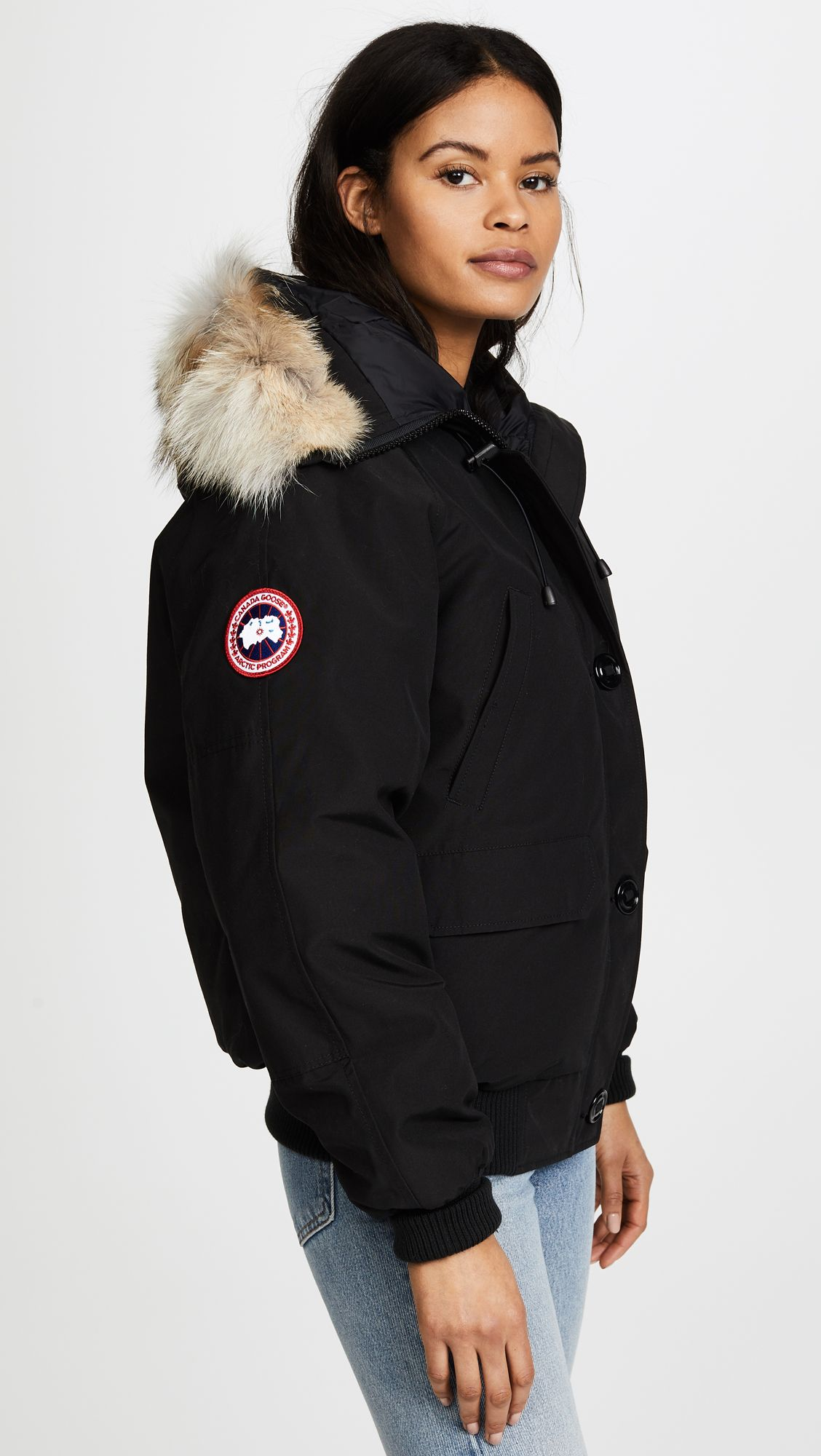 Canada Goose Chilliwack Bomber Shopbop Korean Fashion Casual Canada Goose Jackets Canada Goose Chilliwack