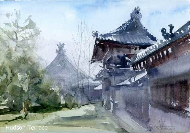 街の風景 #1047 in 2018 Asian Paints  Pinterest Arte and