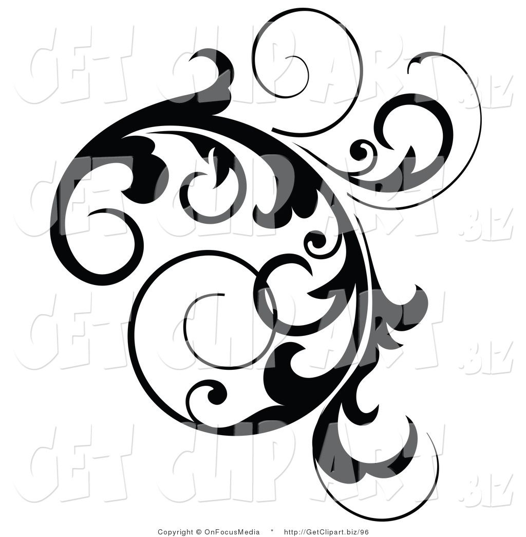 Ordinaire Black And White Designs Clip Art   Bing Images