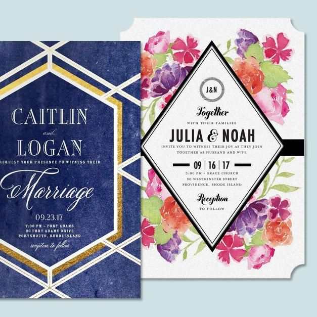 Brides, show off your style, featuring a magical twilight theme or ethereal floral washes.
