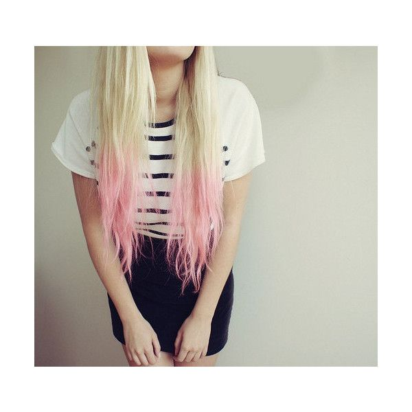 Purple Dip Dyed Hair Extensions For Blonde Hair 20 22 Inches Long