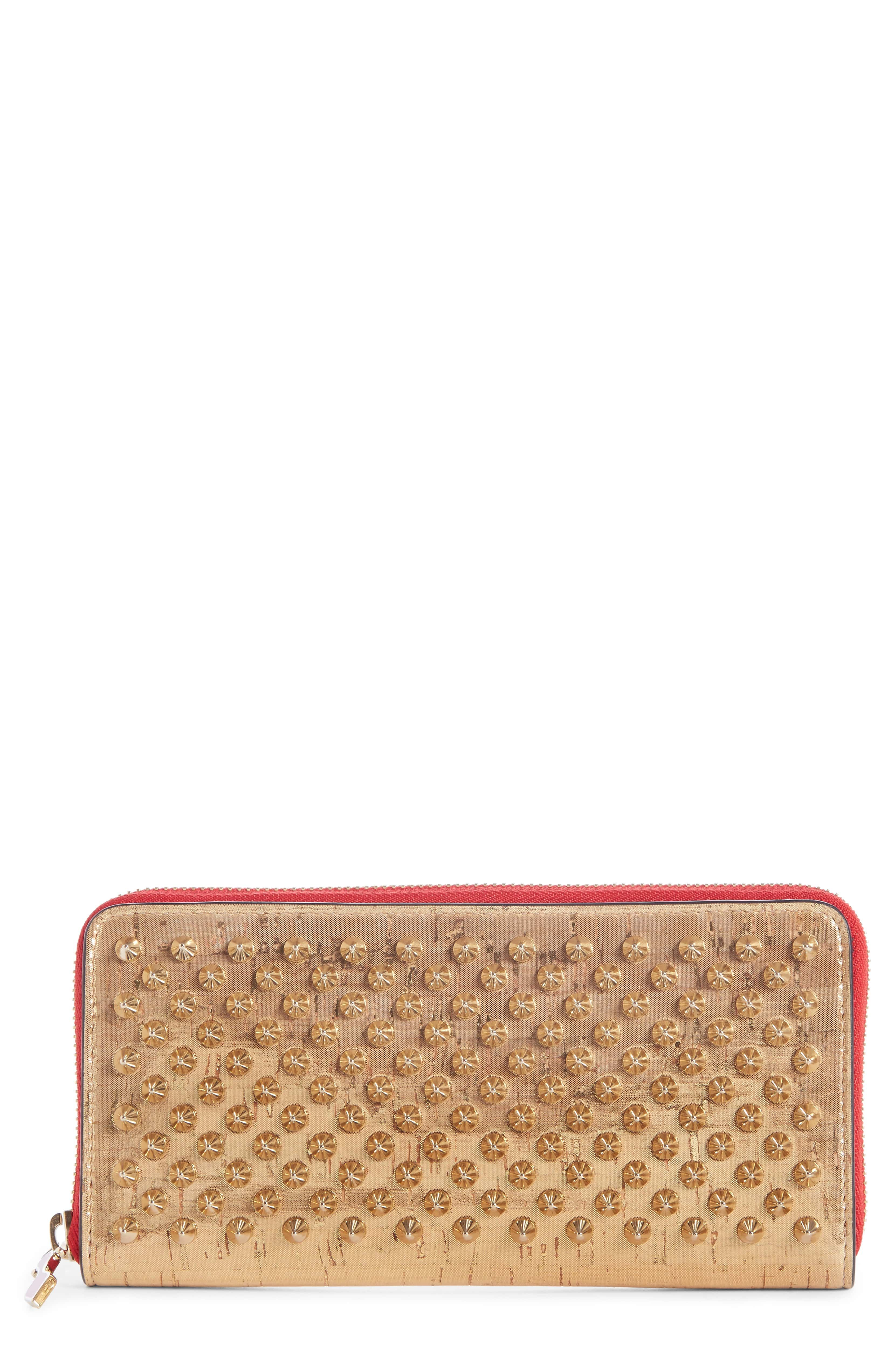 f0f0c3ad60 Panettone Spiked Wallet, Main, color, GOLD/ GOLD | awesome jan 2019 ...