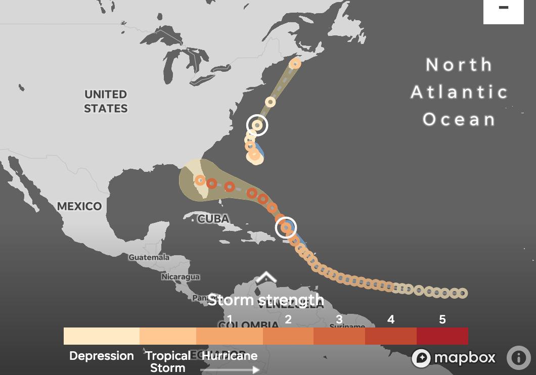 Hurricane Dorian To Strengthen Set To Slam Florida As Major Category3 Storm On Labor Day Florida East Coast National Hurricane Center Storm Surge