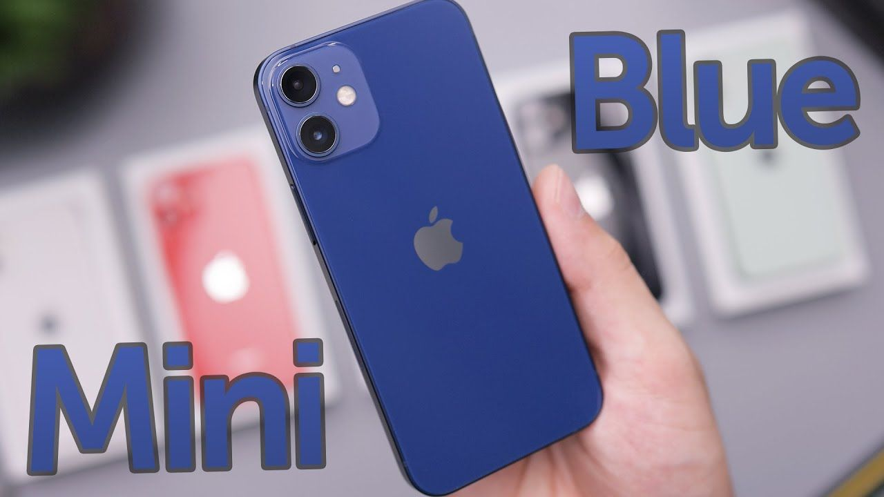 Blue Iphone 12 Mini Unboxing First Impressions Iphone Mini New Iphone
