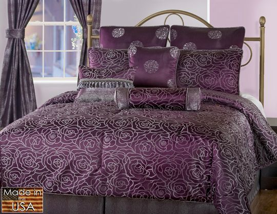 Victor Mill Amethyst Bedding Collection Is Elegant