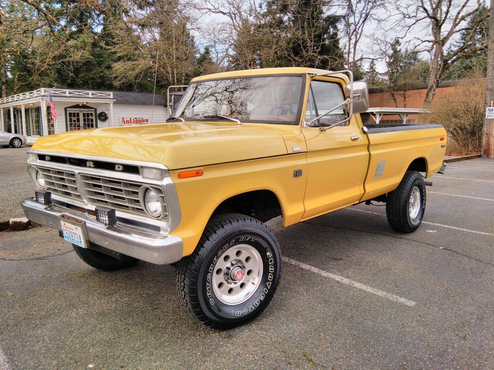 1973 ford f250 4x4 highboy