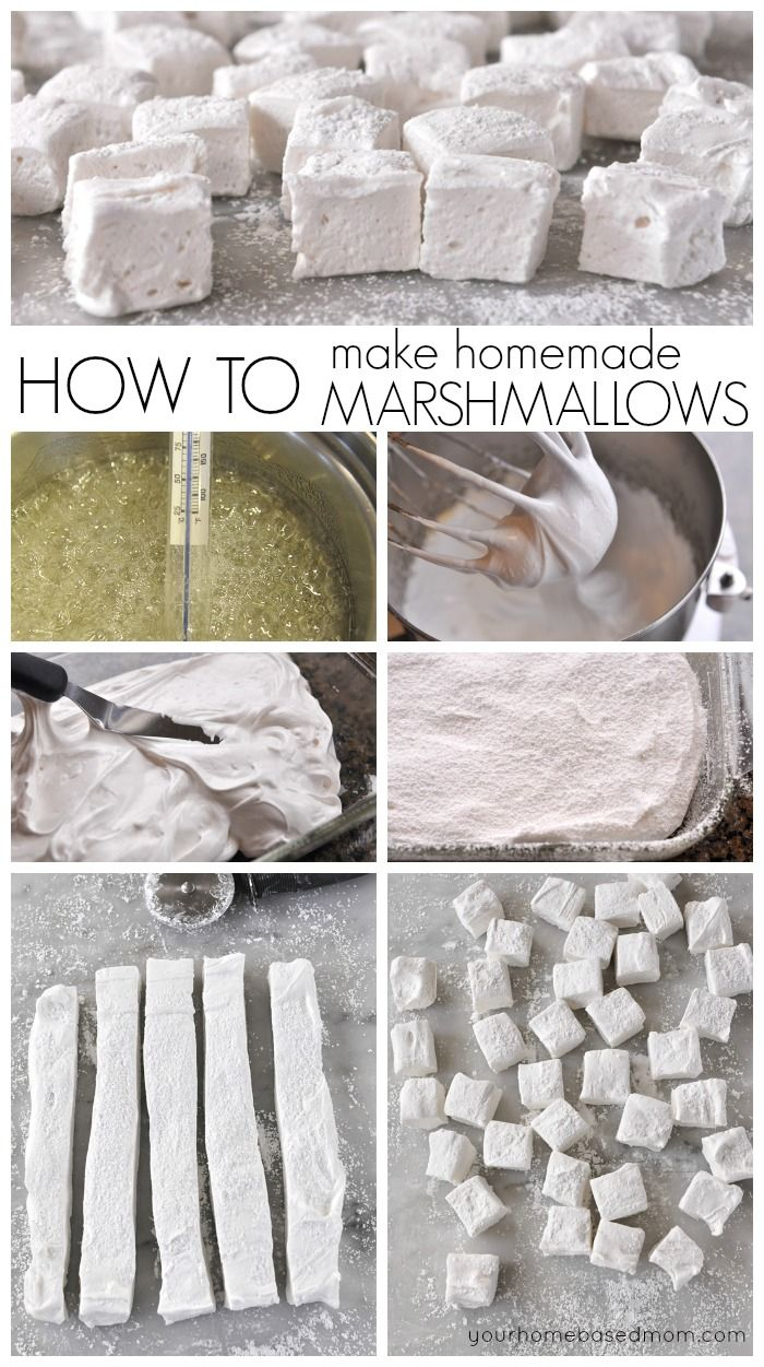 Homemade Marshmallows #marshmallow