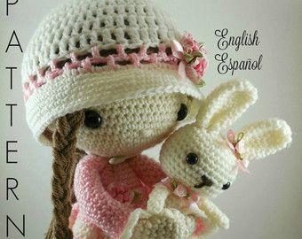 Amigurumi Doll Patterns : Esteban amigurumi doll crochet pattern von carmenrent auf etsy