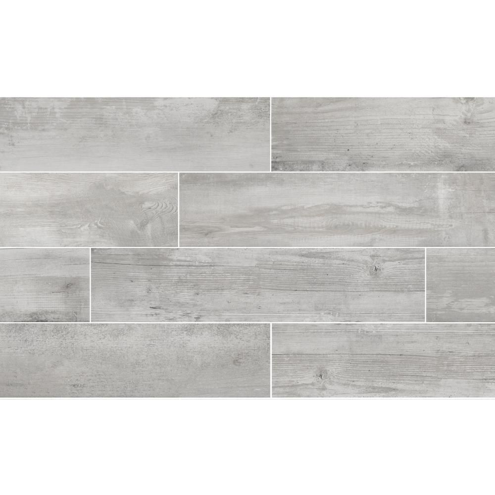 Florida Tile Home Collection Alaskan Powder 8 In X 36 In