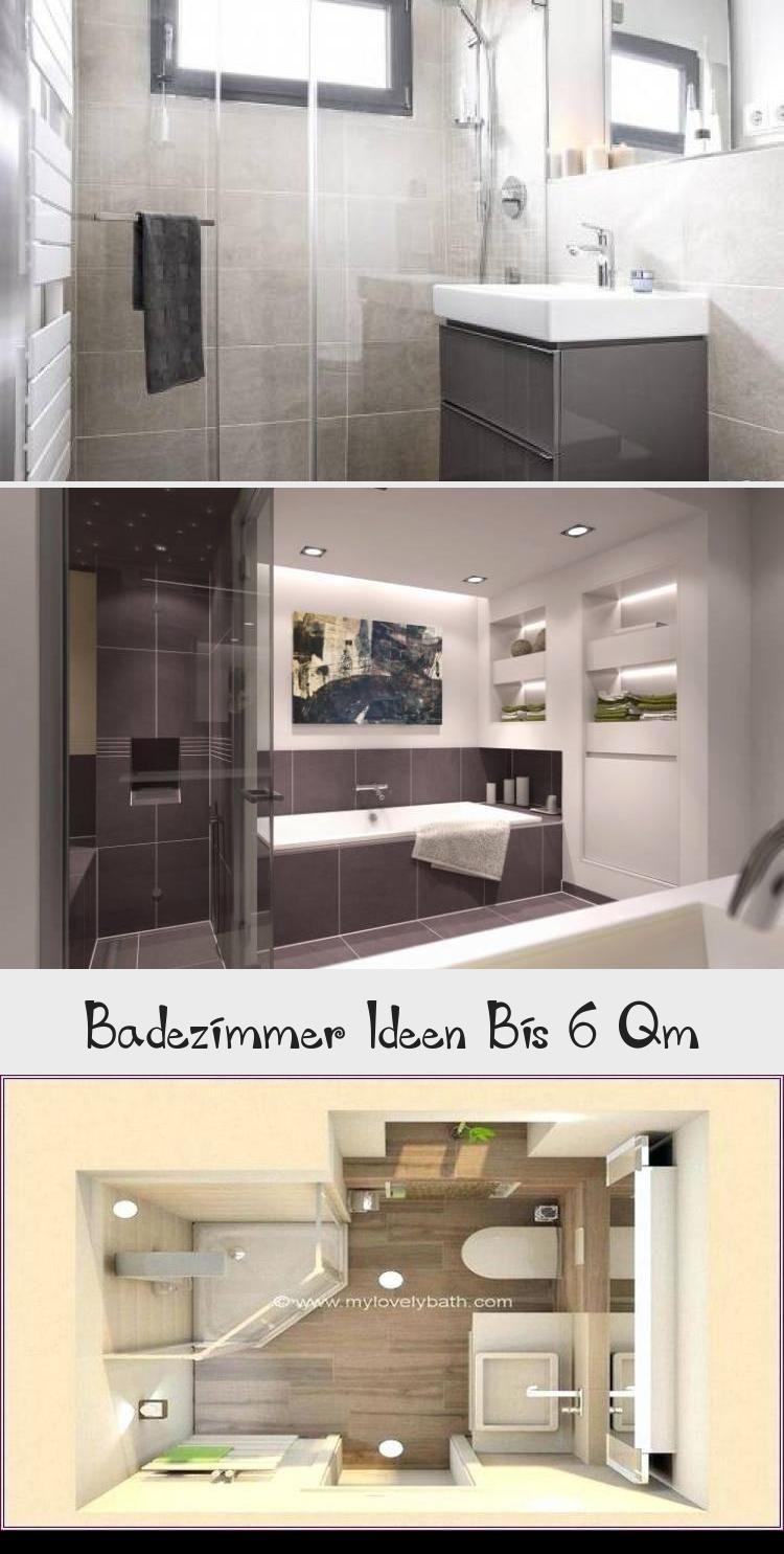 Badezimmer Ideen Bis 6 Qm Badezimmer Dekor Badezimmer Badezimmer Klein