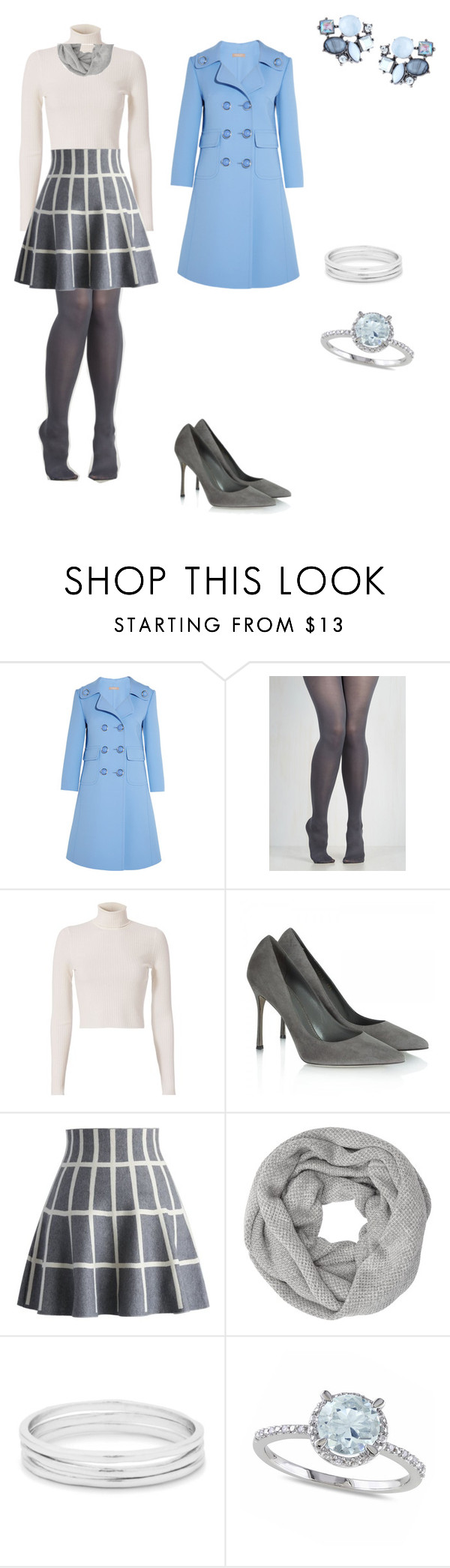 """""""Untitled #65"""" by paty8797 ❤ liked on Polyvore featuring Michael Kors, A.L.C., Sergio Rossi, Chicwish, John Lewis, Gorjana, Allurez and Lydell NYC"""