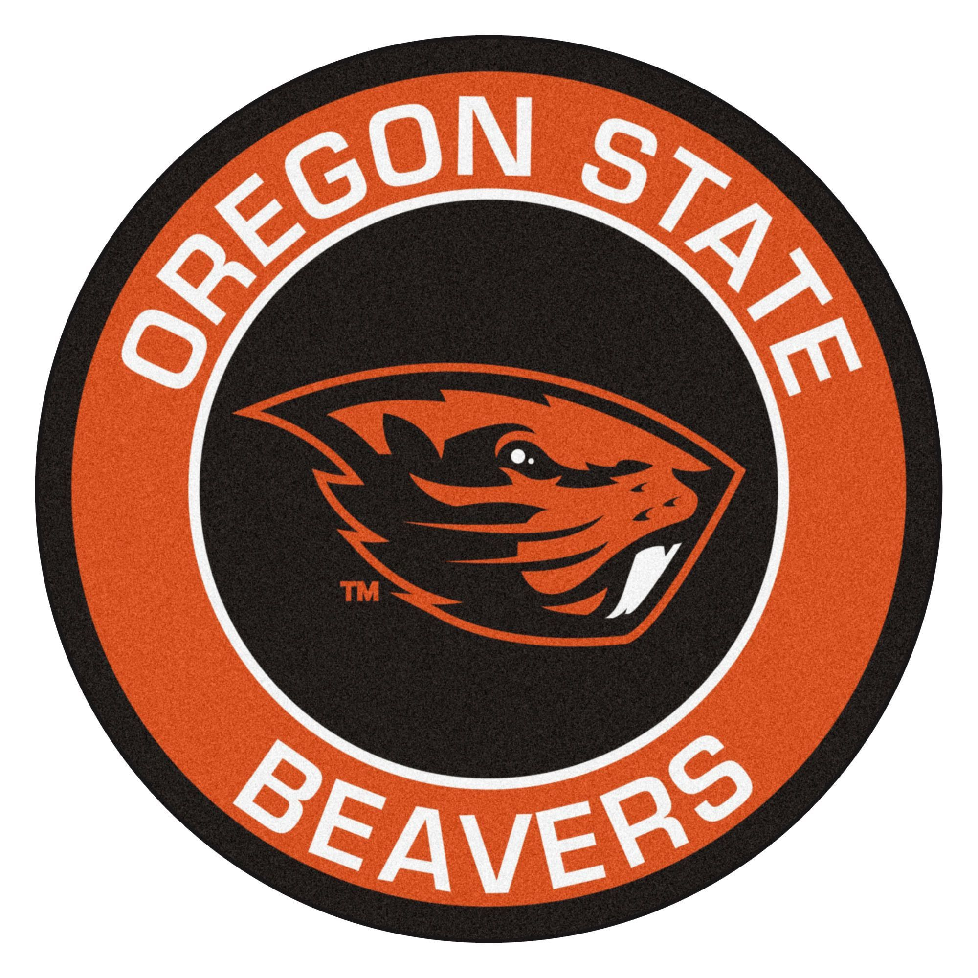 Ncaa Oregon State University Roundel 27 In X 27 In Non