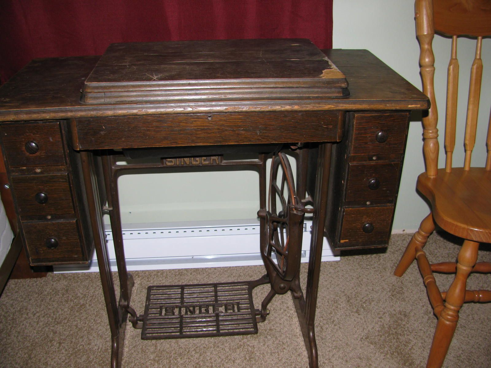 Dating singer sewing machines treadle