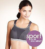 Extra High Impact Non-Wired Sports Bra