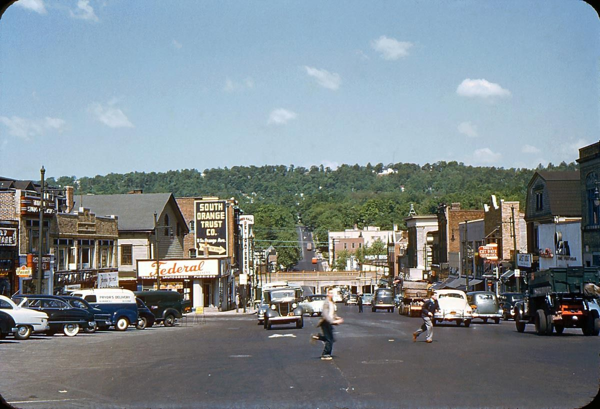 Around the USA, then and now South orange, Favorite places