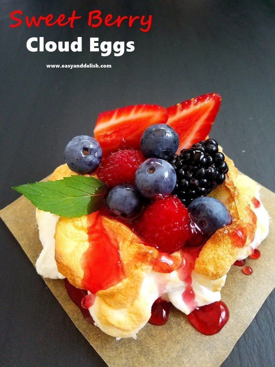 Sweet Berry Cloud Eggs #cloudeggs Sweet Berry Cloud Eggs is a quick, easy, and light dessert. This is the unique sweet version of the Instagram and Internet sensation savory cloud eggs. #cloudeggs Sweet Berry Cloud Eggs #cloudeggs Sweet Berry Cloud Eggs is a quick, easy, and light dessert. This is the unique sweet version of the Instagram and Internet sensation savory cloud eggs. #cloud Eggs #cloudeggs Sweet Berry Cloud Eggs #cloudeggs Sweet Berry Cloud Eggs is a quick, easy, and light dessert. #cloudeggs
