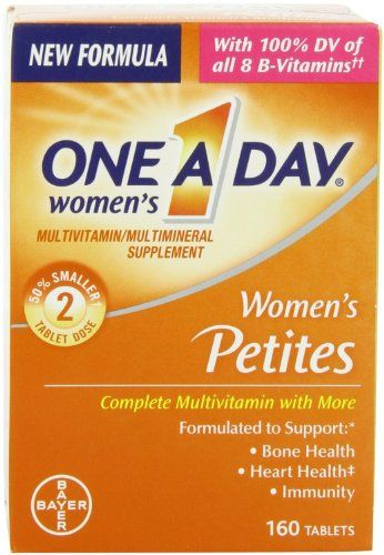 OneADay Multivitamin Supplement Womens Petites Tablets 160 Ct pack of 2 *** For more information, visit image affiliate link Amazon.com