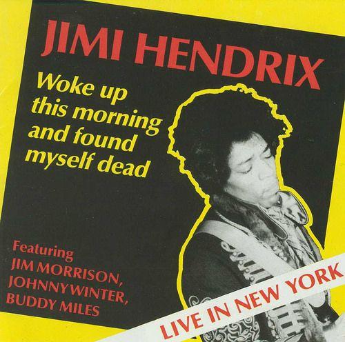 Jimi Hendrix and Jim Morrison 1968-03-07 New York, NY