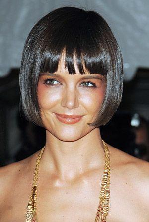 Coupe de cheveux carre frange droite