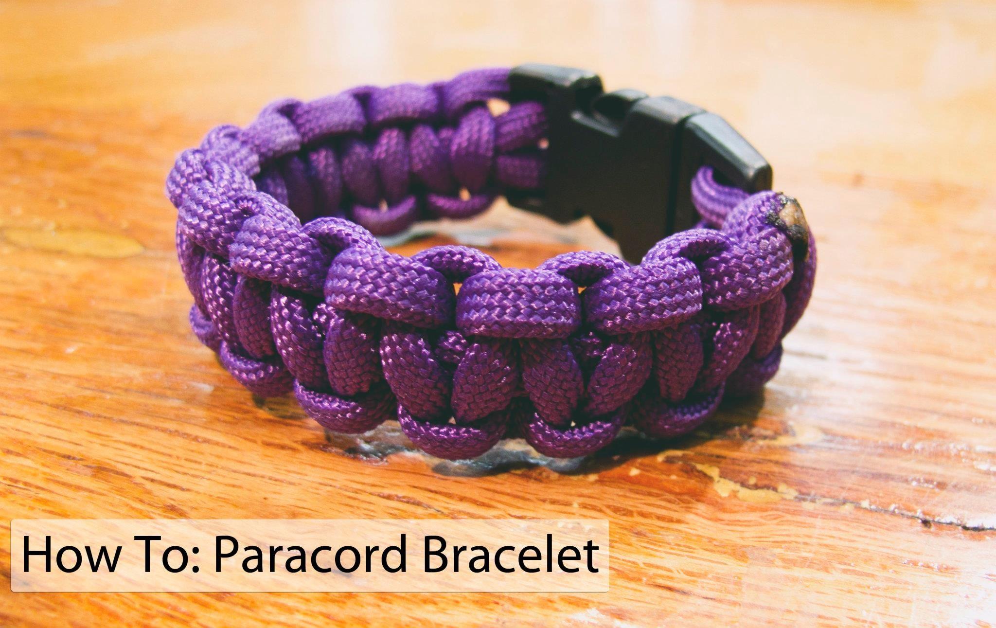 Easytodo paracord bracelet instructions paracord bracelets