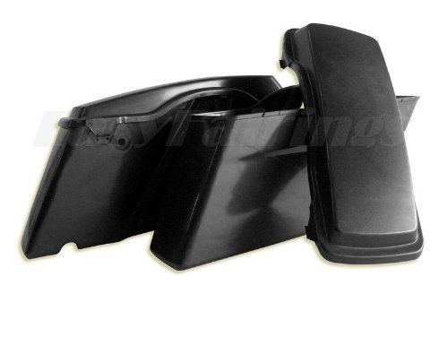 """6/"""" Extended Saddlebags Stretched Harley Touring ROAD KING Electra Ultra Glide"""