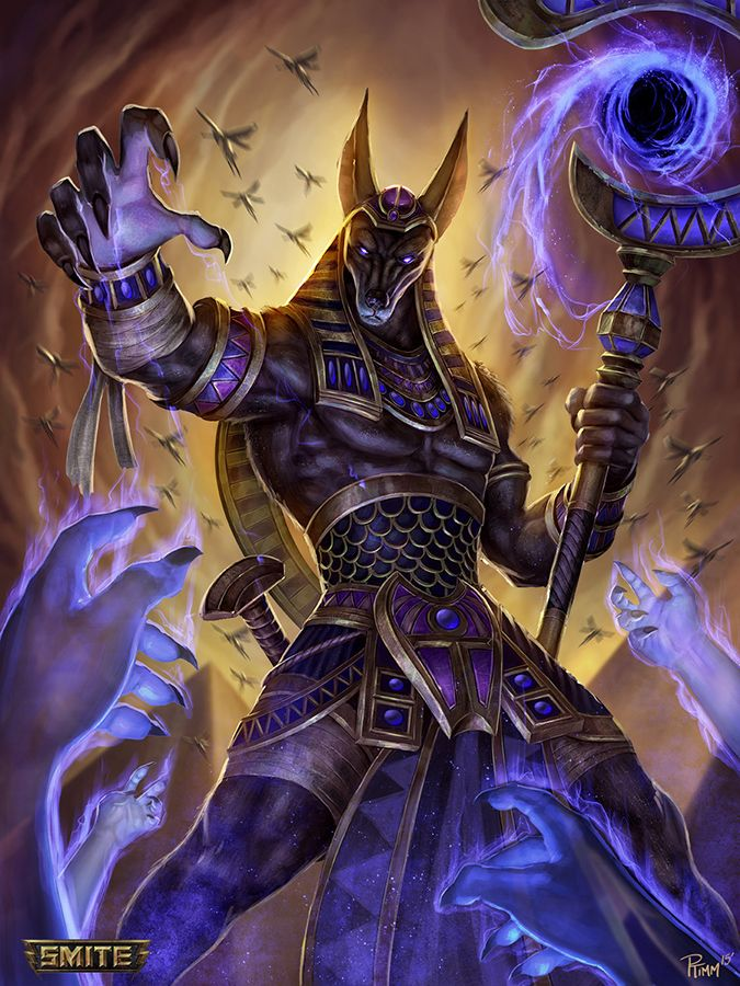 Anubis A Son Of Nephthys And Osiris By Some Where She Assumed