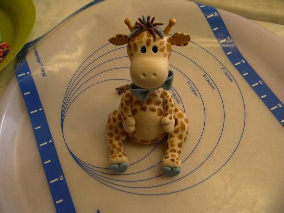 Giraffe Cake Topper Tutorial
