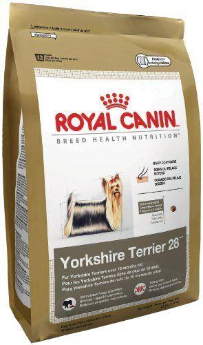Royal Canin Dry Dog Food Yorkshire Terrier 28 Formula 10 Pound Bag Http Www Amazon Com Royal Canin Yor Royal Canin Dog Food Yorkshire Terrier Dry Dog Food