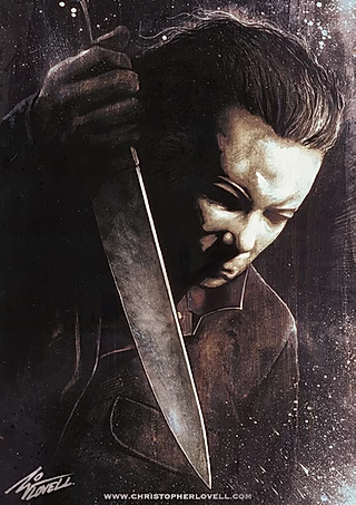 Gallery Iconic Characters And Misc Christopher Lovell Michael Myers Halloween Michael Myers Horror Movie Art
