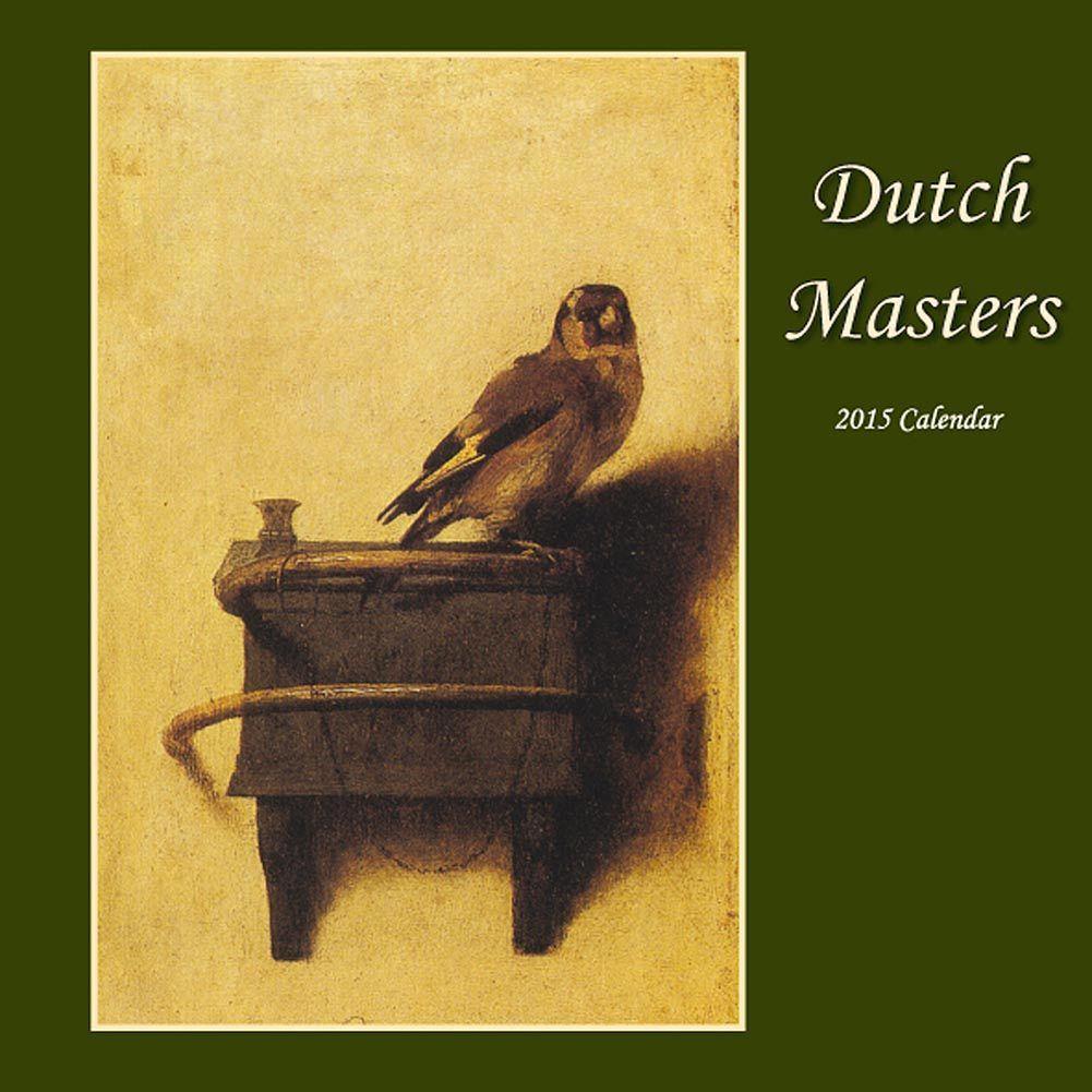 Dutch Masters 2018 Wall Calendar | Dutch