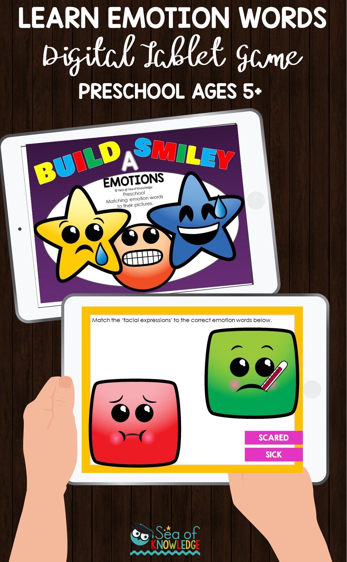 Tablet Games for Kids Preschool games, Preschool age