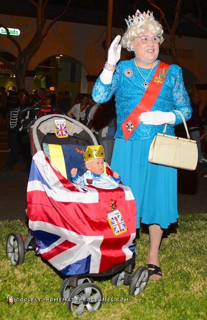 Funny Queen Elizabeth Costume in 2019