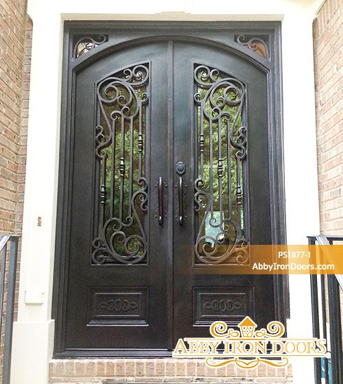 Superbe Abby Iron Doors