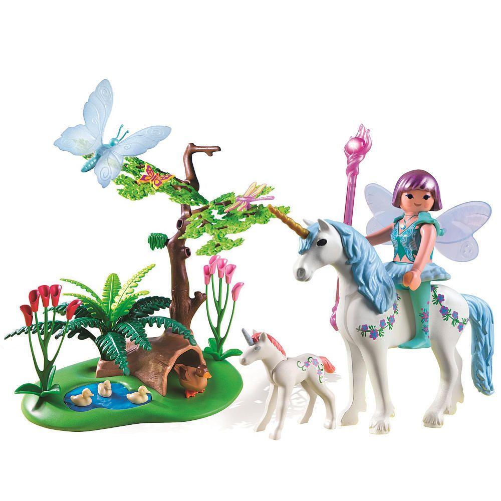 playmobil fairy aquarella in the unicorn meadow playmobil