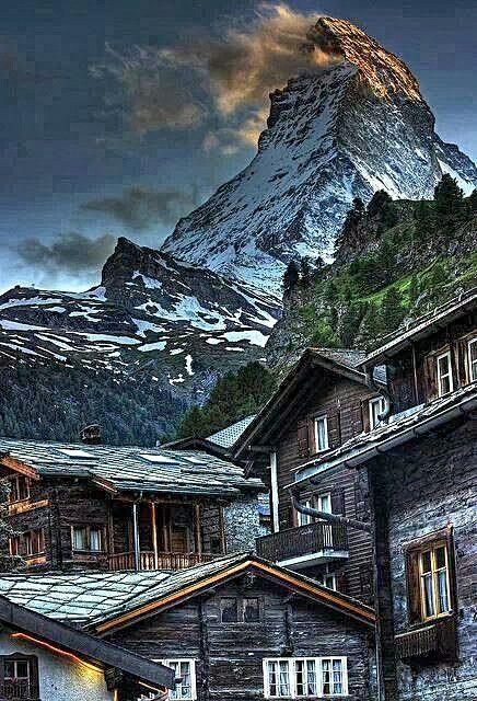 Matterhorn in Zermat
