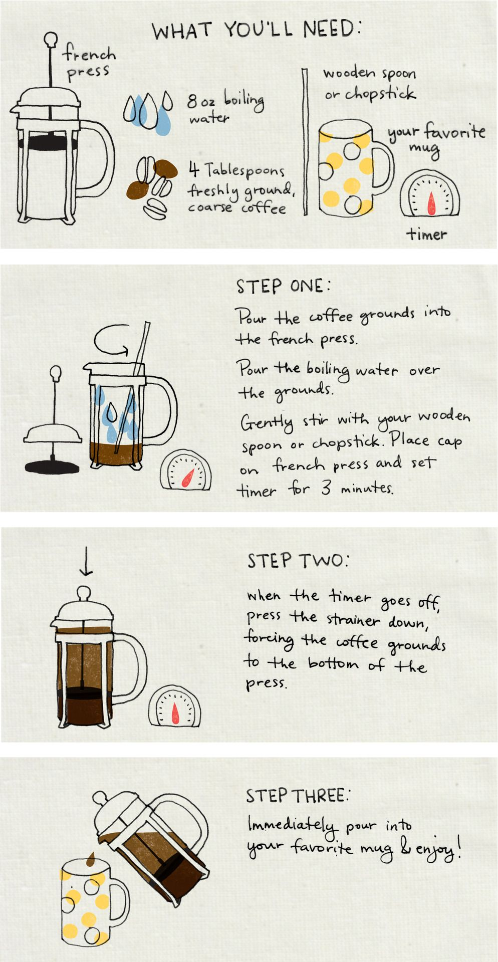 How to make a homemade french press
