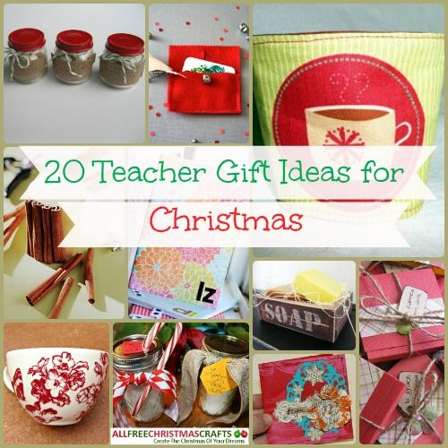 20 Teacher Gift Ideas for Christmas | Gift, Homemade christmas and ...