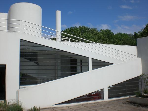 Villa Savoye Poissy Lecorbusier Corbusier Architecture Le