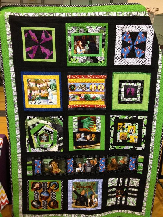 Wizard of Oz Quilt by SkirtsNThings on Etsy, $250.00 | Were off to ... : quilts by the oz - Adamdwight.com
