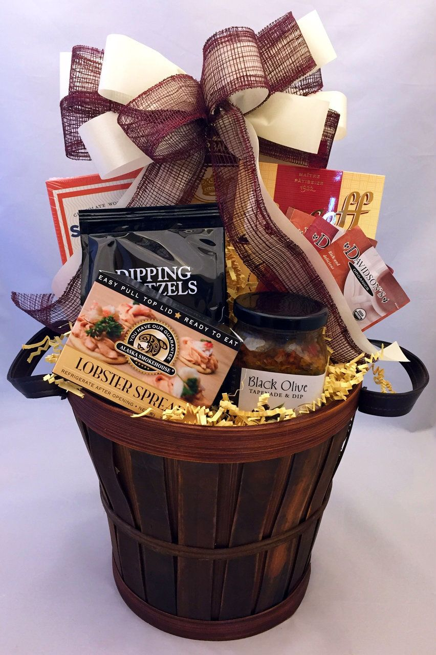 Good Tidings Gift Basket Send A Happy Greeting With This Tasty Assortment