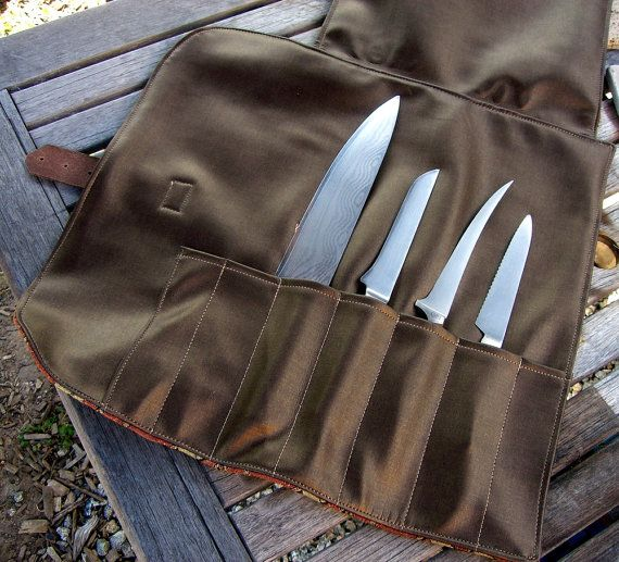 9bd935fa42 Chef Knife Roll Sewing Pattern PDF  for the sharps during travel  ...otherwise they re happily staged on the magnetic knife rack
