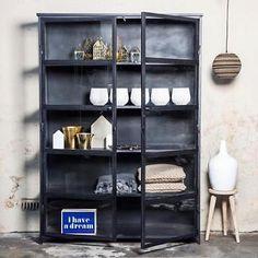Zwarte Kast Met Glas.Stalen Kast Glas Google Zoeken Interior Home Living Room