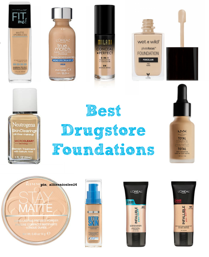 Best Drugstore Foundations Foundations For Oily Dry Combo And Normal Skin Foundati Best Drugstore Foundation Drugstore Foundation Foundation For Dry Skin