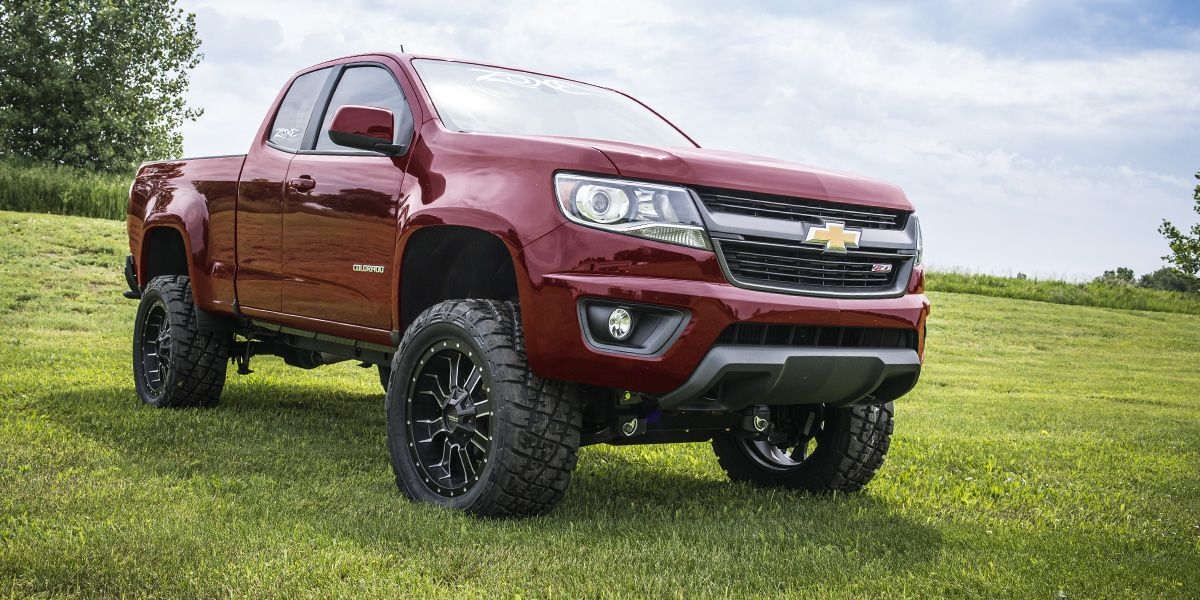 Zone Offroad Products 2015 Colorado/Canyon Lift Kits ...