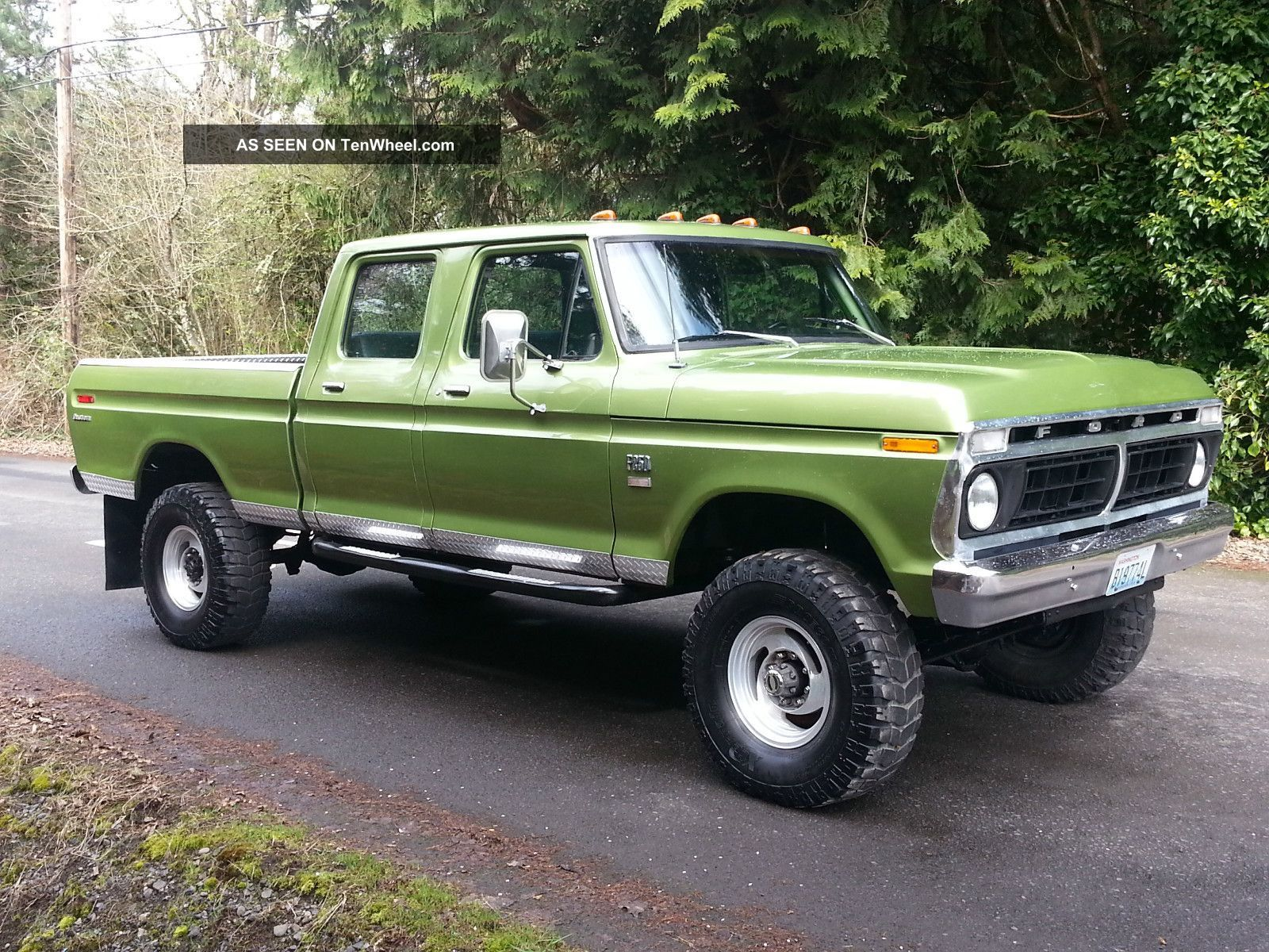 1973 ford f250 highboy crew cab 1974 ford 4x4 crew cab high boy hulk cond go anywhere f 250 photo 3