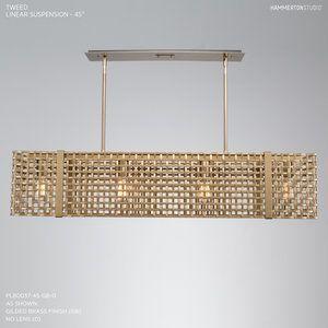 Tweed Linear Suspension PLB0037 45 by Hammerton Studios A