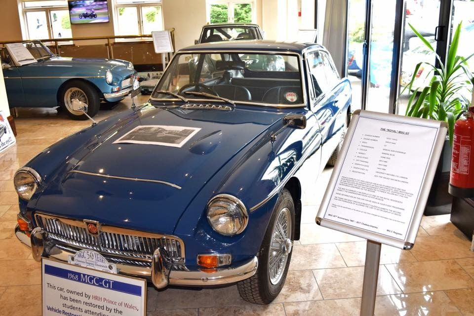 MGC GT owned by Prince Charles  | MG | Mg cars, Classic