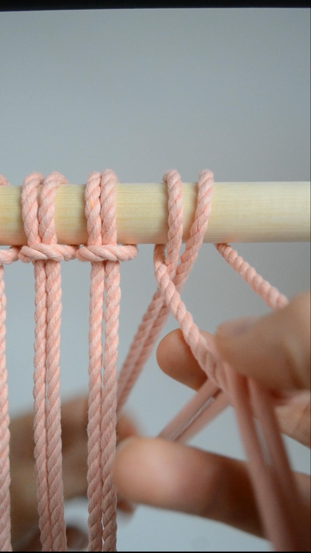 Photo of Makrameeknoten: So binden Sie den Kopfknoten einer Lerche