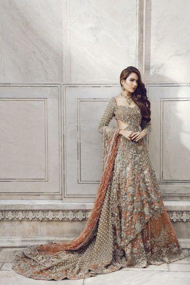 Indian and pakistani wedding dresses 2018